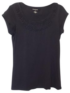 Banana Republic Knit Medium Long Top Black
