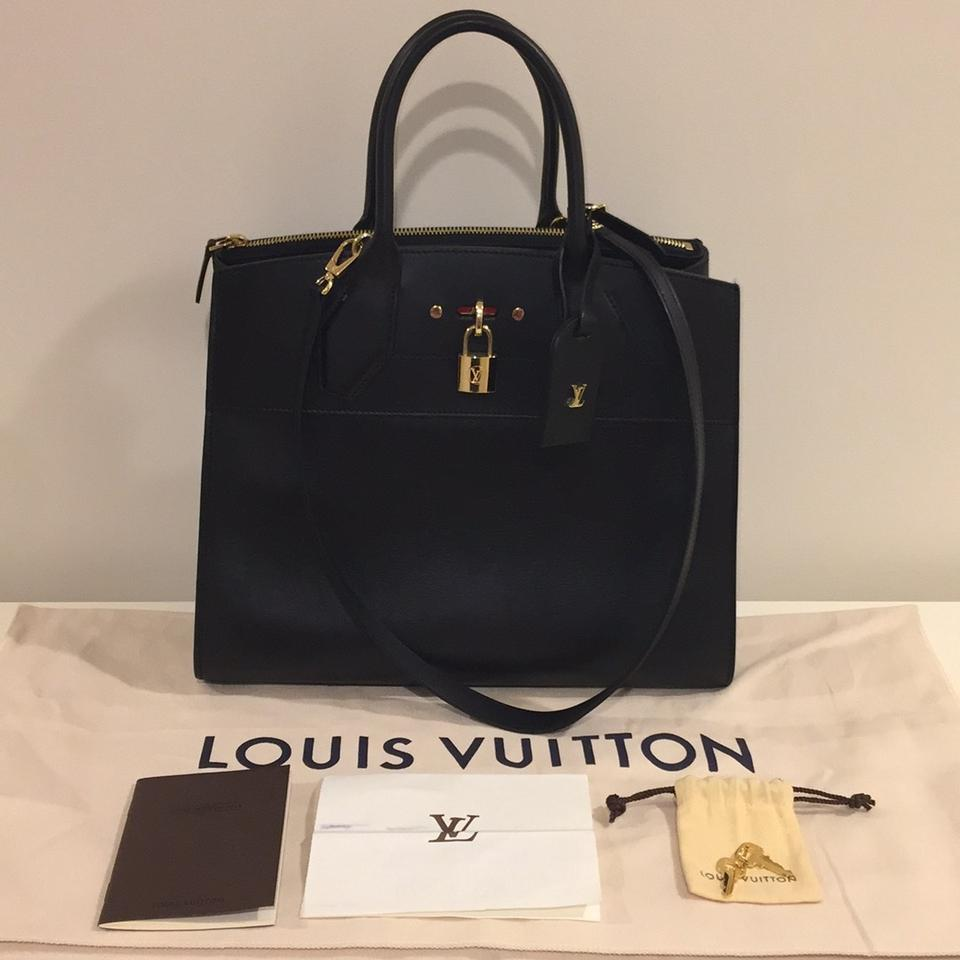 f6a9205172c7 Louis Vuitton City Steamer Birkin City Steamer Mm Kelly Satchel in black  Image 0 ...