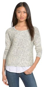 Eileen Fisher Mini Chainette Slouchy Fit Dropped Yarn Cardigan