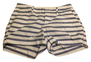 Old Navy Dress Shorts Faded blue and white