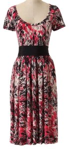 Anthropologie short dress Black, Gray, Pink, White on Tradesy