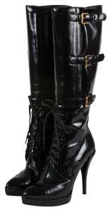 Gucci Kneehigh Baby Lux Black Boots