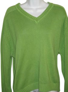 Lands' End V-neck Spring L Sweater
