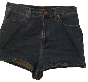 BDG Cuffed Shorts blue with some gold trimmings