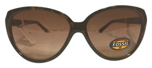 Fossil NEW Fossil Sunglasses Mod FW64 Brown