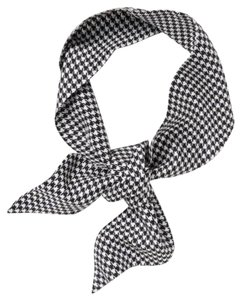 Banana Republic banana Republic houndstooth skinny scarf