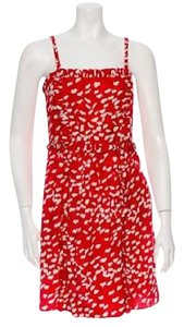 Marc by Marc Jacobs short dress Red and White Anthropologie Little Party Wedding Guest on Tradesy