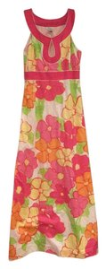 Pink, yellow, orange, white Maxi Dress by Lilly Pulitzer