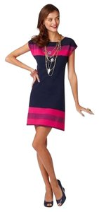 Lilly Pulitzer Color-blocking Beachy Casual Cocktail Sweater Dress