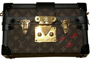 Louis Vuitton Petite Malle Monogram Canvas Cross Body Bag