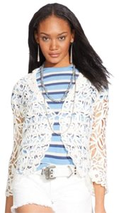 Polo Ralph Lauren Lace Embroidered Cardigan