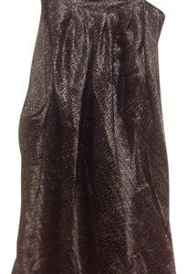 New York & Company &co Feels Like Silk Tie On Neck Black and gray .. Halter Top