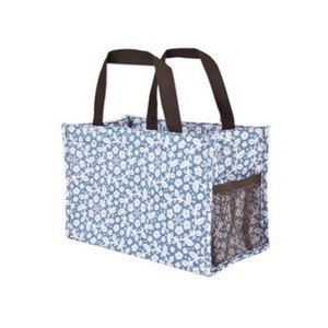 Other Tote in Blue, White, Brown