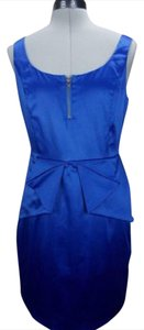 BCBGeneration Sleeveless Peplum Sexy Zipper Dress