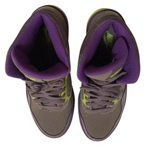 Nike Grey/purple/neon yellow Athletic