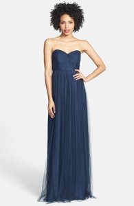 Navy Annabelle Convertible Tulle Column Dress Dress