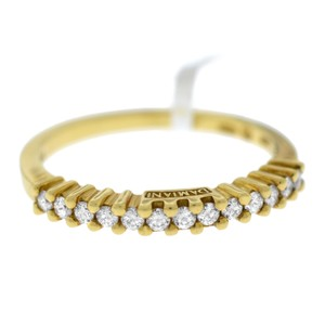 Damiani's Damiani 18k Yellow Gold with Brilliant diamonds stone ring