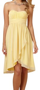 BHLDN Yellow Alice Dress Dress