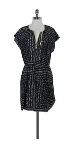 Band of Outsiders short dress Black & White Floral on Tradesy