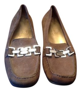 Cole Haan Silver Hardware Green Flats