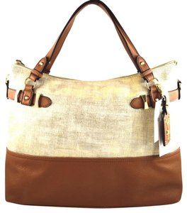 Jessica Simpson Tote in gold/brown cognac