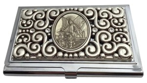 Brighton Brighton Guardian Angel Card Case Business Card Holder-E98520