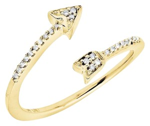 Other Arrow Wrap Style Diamond Engagement Fashion Cocktail Ring .10Ct