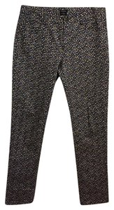 J. Peterman Skinny Pants black with floral print