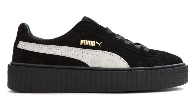 Item - Black White Rare Rihanna Creeper Fenty Sneakers Size US 8 Regular (M, B)