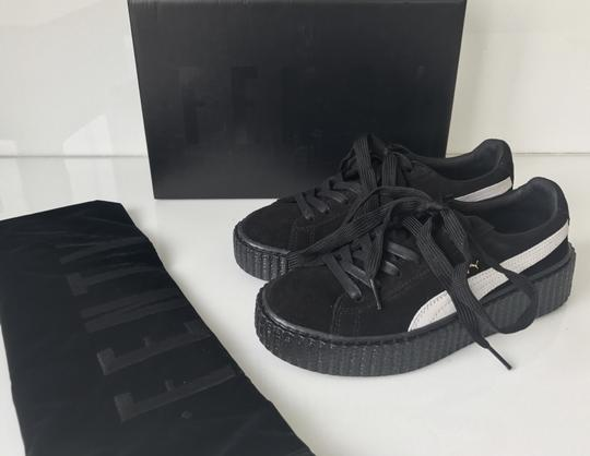 Puma Creepers Rihanna Fenty Rihanna Creepers Fenty Slides Creepers Black White Athletic Image 1