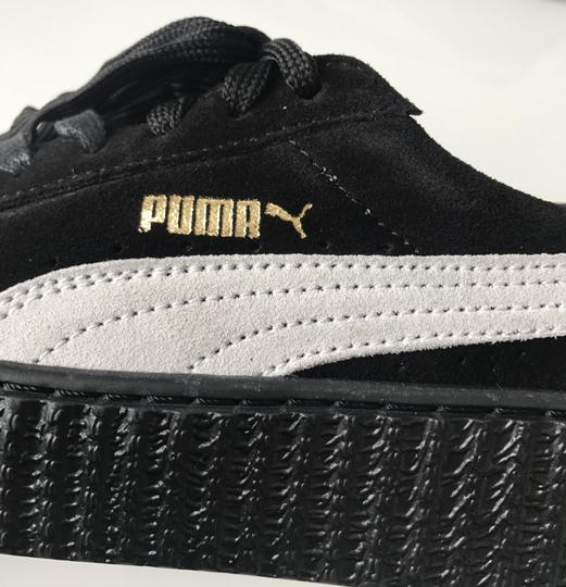 Puma Creepers Rihanna Fenty Rihanna Creepers Fenty Slides Creepers Black White Athletic Image 6