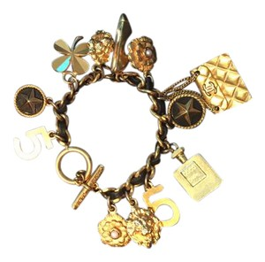 Chanel CHANEL # 5 BRACELET WITH 12 CHARMS