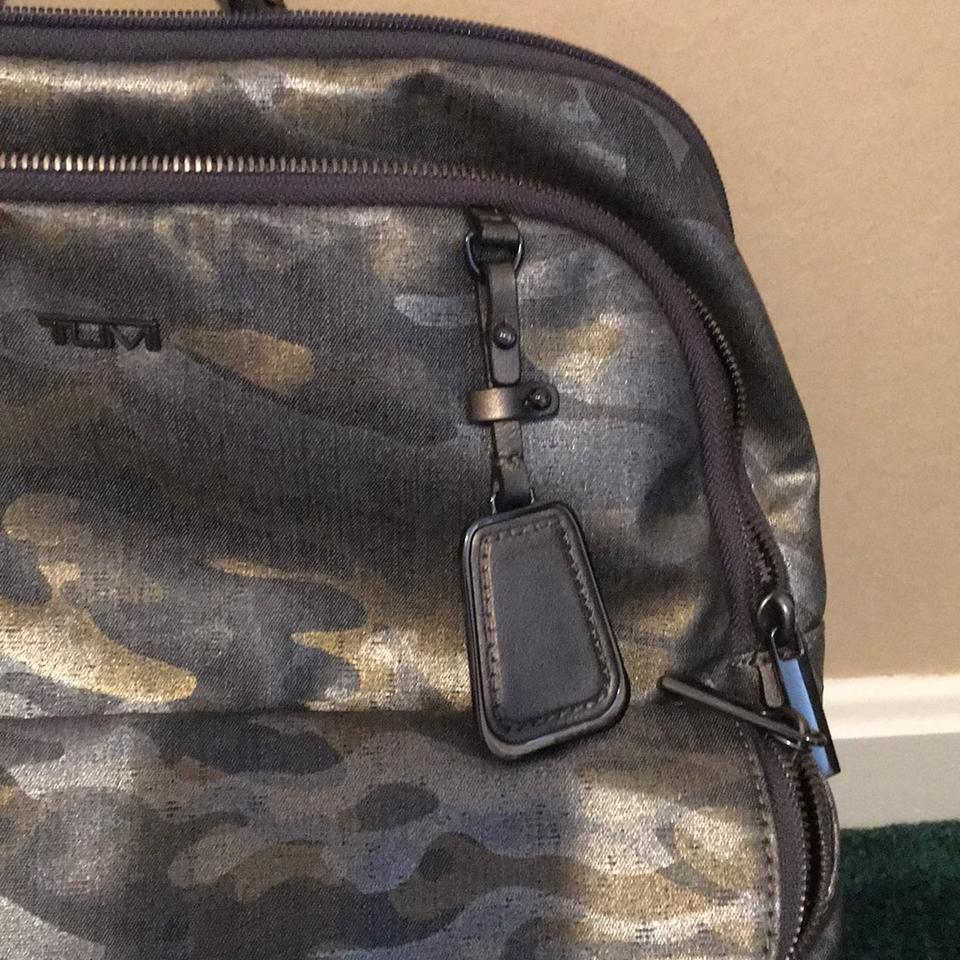 260512af0 Tumi Sinclair Harlow Camo Coated Canvas Backpack - Tradesy
