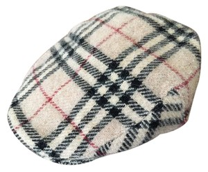 Burberry $450 BURBERRY London Nova Check Checkered Plaid Sz S Driving Hat