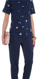 Sonia Rykiel Straight Pants jewel tone navy