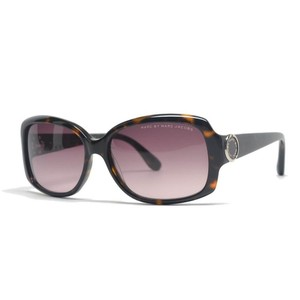 Marc Jacobs Marc by Marc Jacobs Havana Rectangular Frame Sunglasses