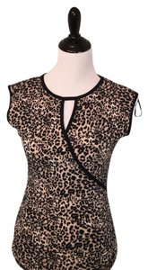 Vince Camuto Top black and brown