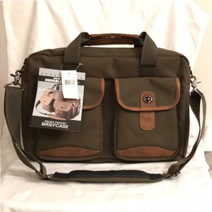 Perry Ellis Briefcase Computer Weekend/travel Messenger Laptop Bag