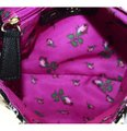 Betsey Johnson Satchel Black Sequin Candy Shoulder Bag Image 4