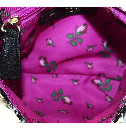 Betsey Johnson Satchel Black Sequin Candy Shoulder Bag Image 8