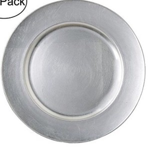 Silver Charger Plates - 150