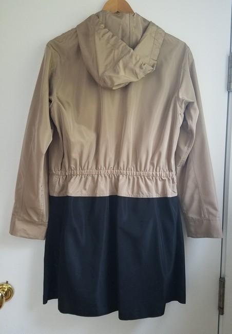W by Worth Fall Coat Trench Coat brown and black Jacket Image 3