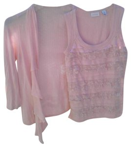 Chico's Ruffle Top Pink