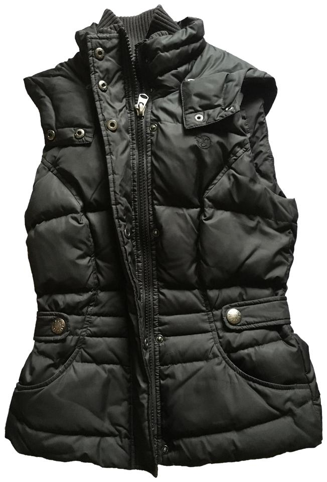 Esprit Filled Down Tradesy Size xs 2 Vest Black Hooded rwxtq4grC