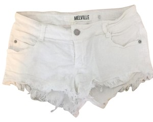 Brandy Melville Cut Off Shorts White