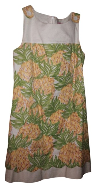 Preload https://item3.tradesy.com/images/lilly-pulitzer-yellow-green-linen-shift-mid-length-short-casual-dress-size-6-s-2114462-0-0.jpg?width=400&height=650