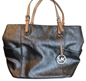 Michael Kors Tote in Metallic silver but subtle, not shiny