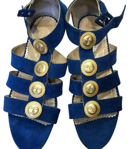Charlotte Olympia blue Sandals