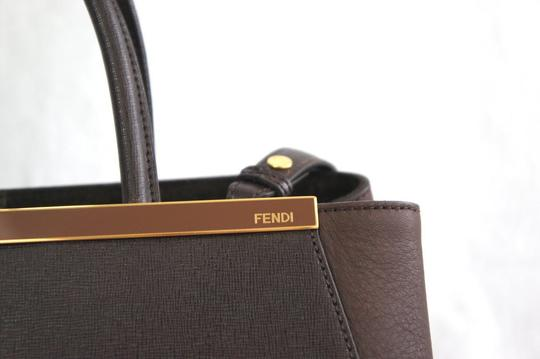 Fendi Satchel 2 Jour 3jour Tote in Brown