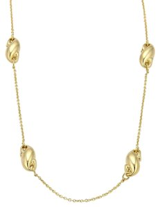 Tiffany & Co. Tiffany & Co. Peretti Puffed Curved Charms 18k Yellow Gold Necklace